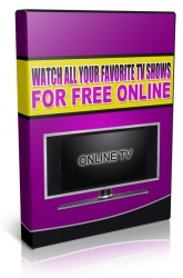 Watch All Your Favorite TV Shows For Free Online Video with private label rights