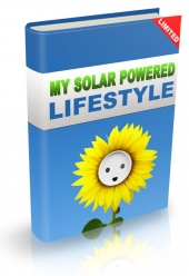 My Solar Powered Lifestyle eBook with private label rights