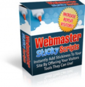 Webmaster Sticky Scripts