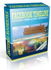 Facebook Timeline Cover Version 7 Graphic with Master Resell Rights