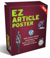 EZ Article Poster Software with Personal Use Rights