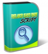 Freelancer Search Engine Script Software with Resale Rights
