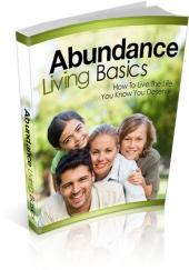 Abundance Living Basics eBook with Master Resale Rights