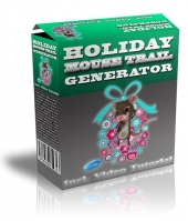 Holiday Mouse Trail Generator Software with Master Resell Rights