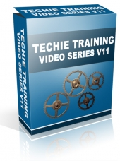 Techie Training Videos V11 Video with Master Resale Rights