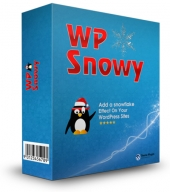 WP Snowy Plugin Software with Master Resale Rights