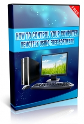 How To Control Your Computer Remotely Using Free Software! Video with Private Label Rights