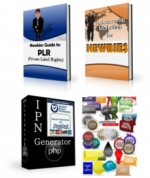 Newbie PLR Pack eBook with Private Label Rights