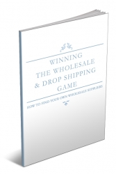 Winning The Wholesale & Dropshipping Game eBook with private label rights