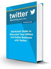 Twitter Marketing Made Easy Video with Personal Use Rights