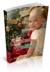 Family Christmas Traditions eBook with private label rights