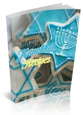 Family Hanukkah Recipes eBook with private label rights