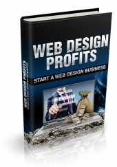 Web Design Profits eBook with private label rights