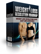 Weight Loss Resolution Roadmap eBook with Private Label Rights