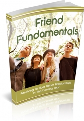 Friend Fundamentals eBook with private label rights