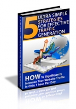 5 Ultra Simple Strategies For Traffic eBook with Private Label Rights