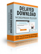 Delayed Download Plugin Software with Personal Use Rights