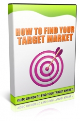 How To Find Your Target Market Video with Master Resale Rights
