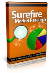 Surefire Market Research Video with Private Label Rights