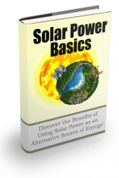Solar Power Basics Newsletter eBook with private label rights