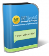WP Tweeet Plugin Software with Personal Use Rights