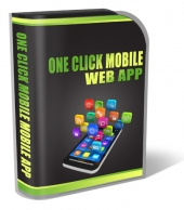 One Click Mobile Web App Software with Personal Use Rights/Developers Rights