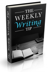 Weekly Writing Tips eBook with Personal Use Rights