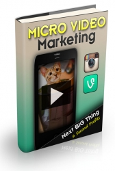 Micro Video Marketing Video with Master Resale Rights