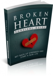 Broken Heart Survival Guide eBook with Master Resell Rights