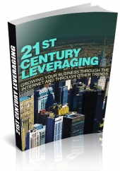 21st Century Leveraging eBook with private label rights