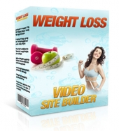 Weight Loss Video Site Builder Software with Master Resell Rights
