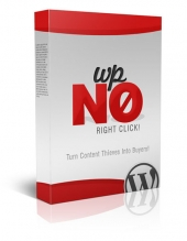 WP No Right Click Plugin Software with Master Resell Rights