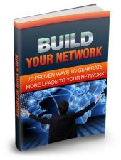 Build Your Network eBook with Master Resell Rights