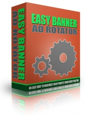 Easy Banner Ad Rotator Software with Master Resale Rights