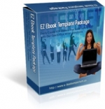 EZ Ebook Template Package Graphic with Master Resale Rights