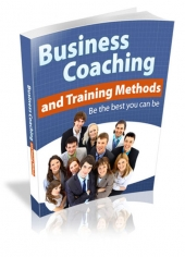 Business Coaching and Training eBook with Master Resale Rights