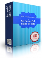 Fundamentals Of Successful Sales People eBook with Personal Use Rights