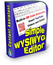 Simple WYSIWYG Editor Software with Private Label Rights