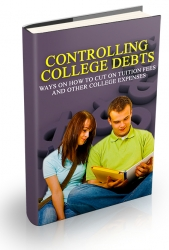 Controlling College Debts eBook with Master Resale Rights