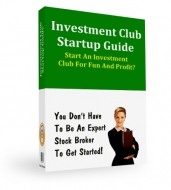 Investment Club Startup Guide eBook with Private Label Rights
