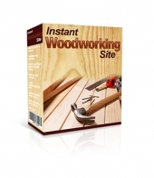 Instant Woodworking Site Software with Master Resale Rights/Giveaway Rights