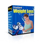 Instant Weight Loss Site Software with Master Resale Rights/Giveaway Rights