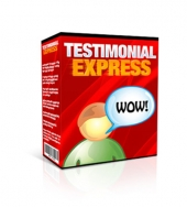 Testimonial Express Software with Master Resale Rights/Giveaway Rights