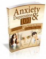Anxiety and Depression 101 eBook with private label rights