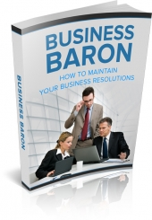 Business Baron eBook with Master Resale Rights/Giveaway Rights