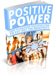 Positive Power eBook with private label rights