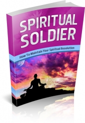 Spiritual Soldier eBook with private label rights