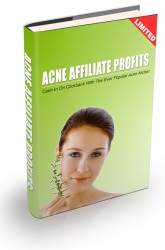 Acne Affiliate Profits eBook with private label rights