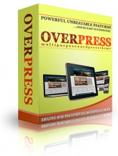 OverPress Multipurpose Wordpress Theme Template with Personal Use Rights/Developer Rights
