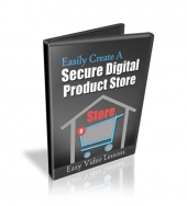 How To Set Up A Secure Digital Products Store Video with Personal Use Rights